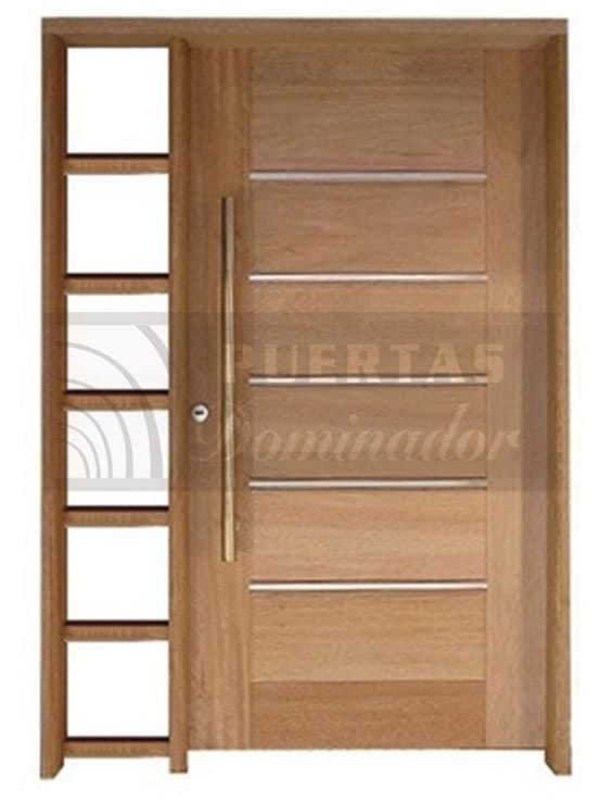 Puertas de entrada de madera r sticas y modernas cat logo for Puertas de entrada de madera modernas
