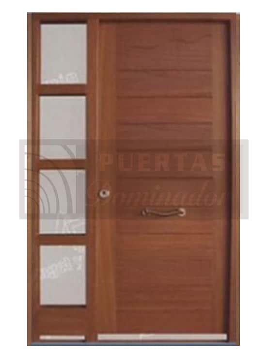 Puertas de entrada modernas puertas dominador 100 calidad for Puertas de entrada de madera modernas