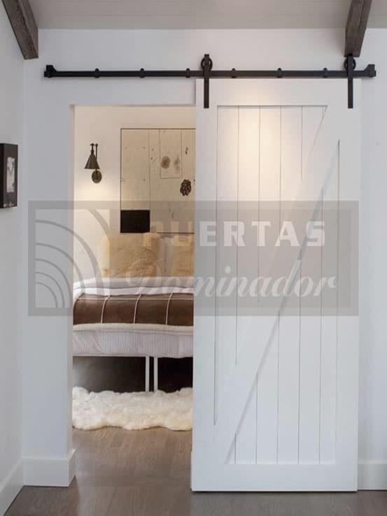 Puertas de interior correderas madera puertas dominador for Puertas de madera interiores rusticas