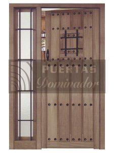 puertas de entrada rusticas 12