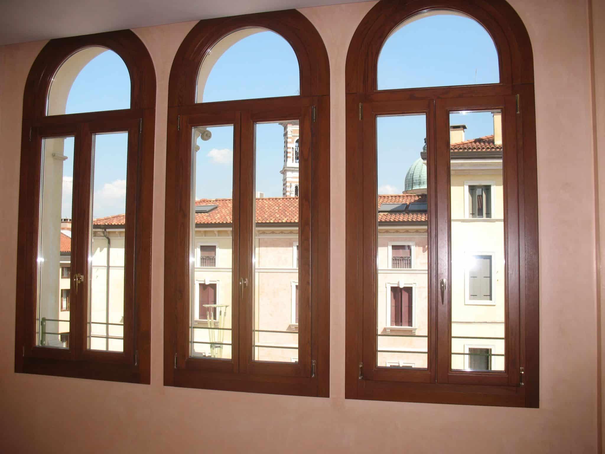 ventanas mediopunto