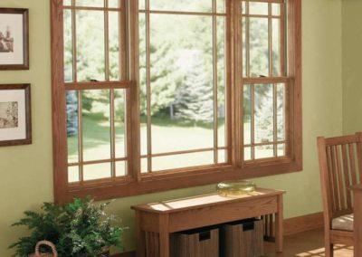 ventana guillotina para salon